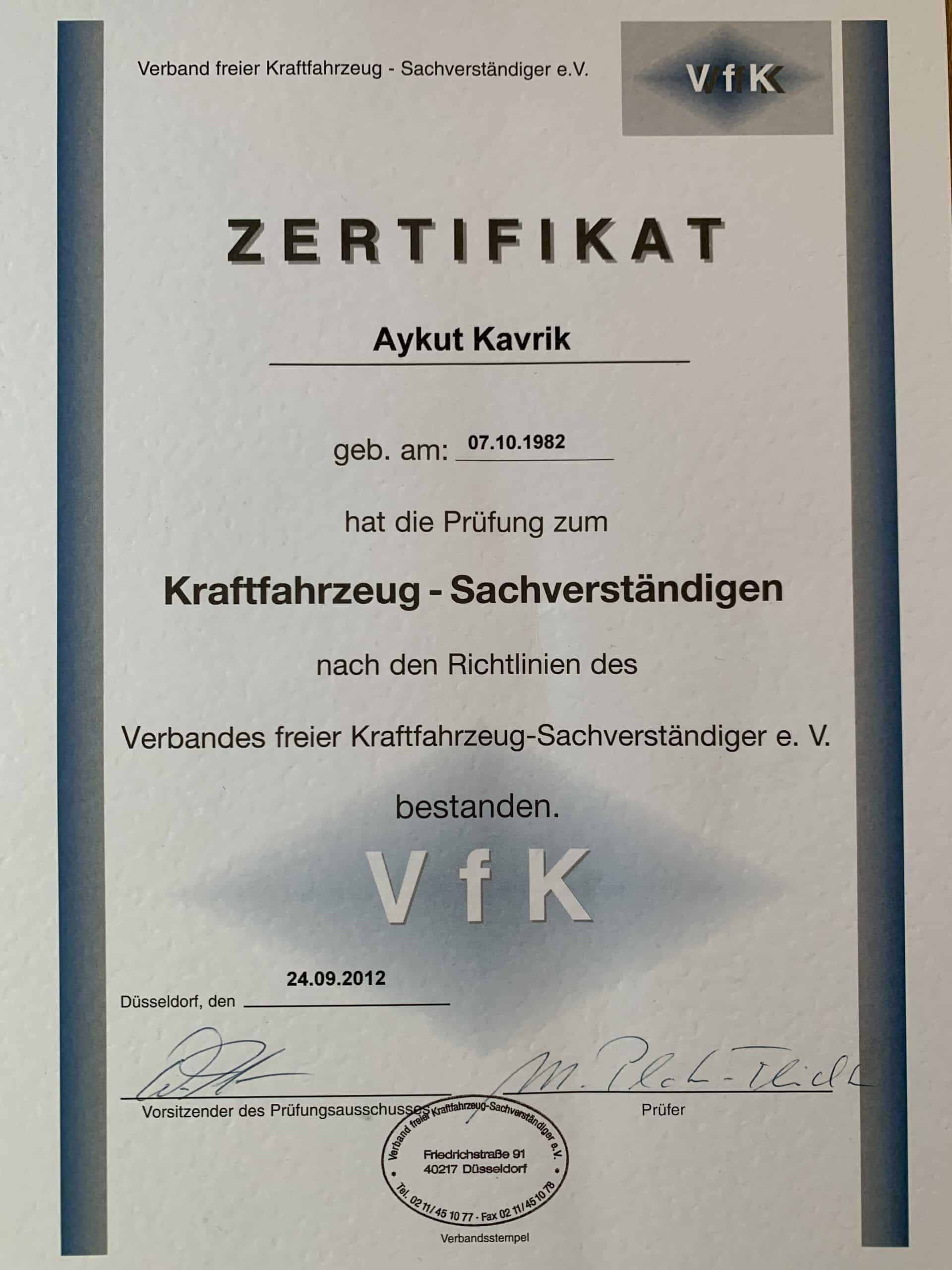 kfz-sachverstaendiger